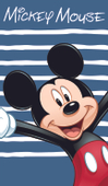 Osuška Mickey Mouse Happy 70 x 120 cm